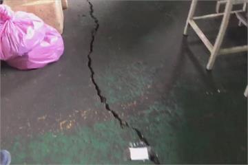 維冠原地重建 隔壁工廠驚見20米裂縫