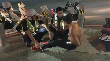 酒駕被攔查跑給警察追!蒙古交換生拒酒測女友落淚求情