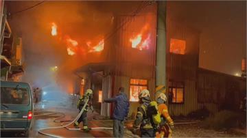 隔壁洗車場竄火延燒 桃園特教兒童機構一夕燒毀