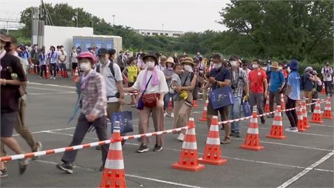 東奧少數開放觀眾項目 自由車登山賽大排長龍