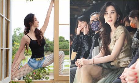 「台灣第一美女」黑網襪辣曬美腿 粉絲讚:像28歲