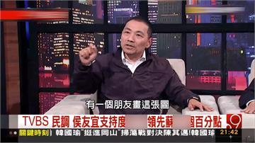 侯友宜上傳專訪談民調 蘇貞昌控違規帶風向