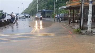快新聞/北北基豪雨發威! 士林山區時雨量達91毫米 成立緊急應變小組