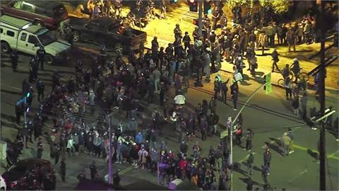 街友落腳洛杉磯回音公園 整修趕人爆衝突