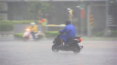 梅雨鋒面來襲 高屏地區豪雨特報 預估雨量達300毫米