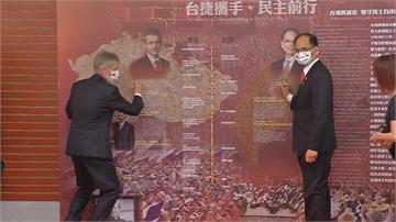 快新聞/欽佩韋德齊不畏中國放話威脅 游錫堃:此次來訪向國際證明台灣存在