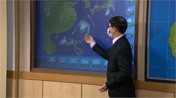 巴威颱風S型繞台原因曝 甩尾大雨到週五