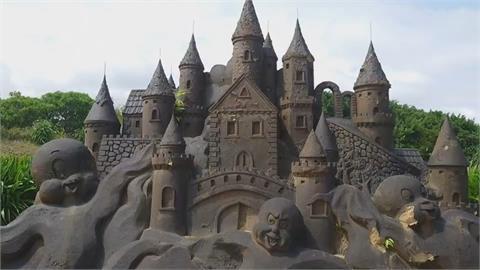 沙雕始祖地不是福隆海灘! 「這裡」十多座沙雕將重歸塵土