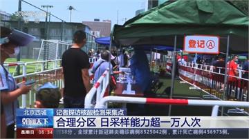 北京再爆肺炎疫情 近一週篩檢229.7萬人