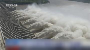 中國長江今年第5號洪水形成 1981年來最大規模 週四進入三峽大壩