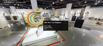 台灣陶瓷雕塑學會首次聯展在桃園 176件作品也能線上看