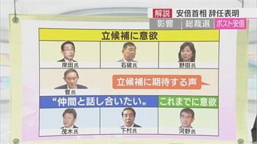 日本自民黨改選黨魁 各方人馬表態參選