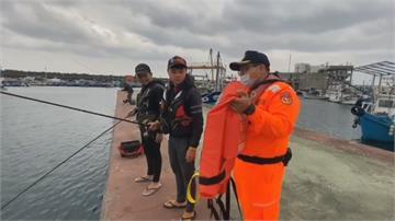 花蓮去年發生十起溺水事故讓民眾安心玩!岸巡隊提供50件救生衣免費租借