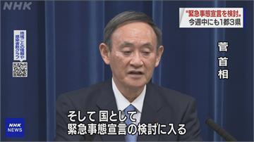 日本1都3縣擬自行宣布「緊急事態」疫苗拚2月開打!菅義偉將率先接種