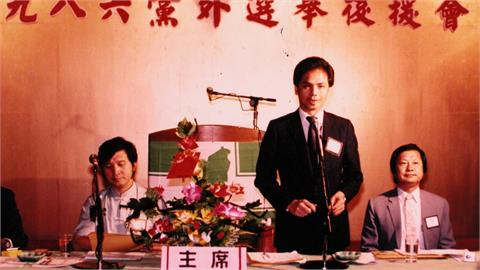 游錫堃專訪 憶1986「圓山組黨」驚心過程!哽咽談與妻兒「告別」
