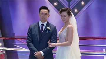劉雨柔甜蜜出嫁 深V白紗搭配百萬珠寶