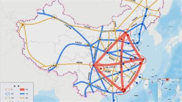 自我感覺良好!中國規劃交通網 終點有台北
