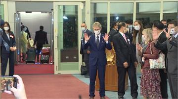 捷克團結束訪台行 韋德齊:分開時間不會很長