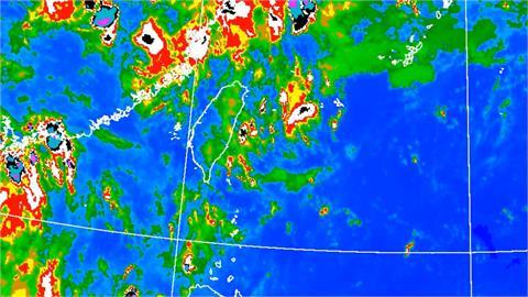雙北.南投高溫黃燈! 未來一周中南部易降雨
