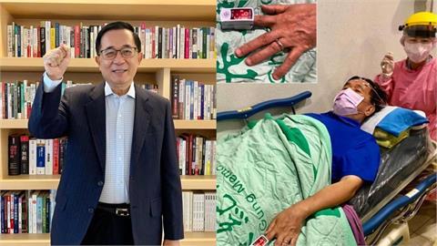 70歲前總統陳水扁臥病照曝光!主治醫師證實血氧「一度掉到90%」