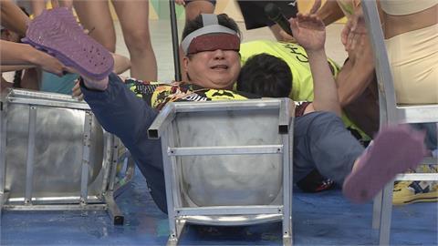 《綜藝大集合》胡瓜被水球狠砸臉楞呆三秒!阿翔嚇得喊是誰要拖出來打