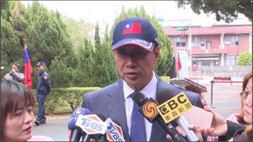 郭台銘大溪謁陵 問及國民黨風暴「不關我的事」