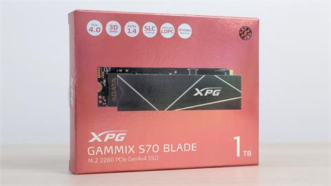 3C/刀光劍影 極速覺醒 ADATA XPG GAMMIX S70 BLADE 飆上 7,000MB/s