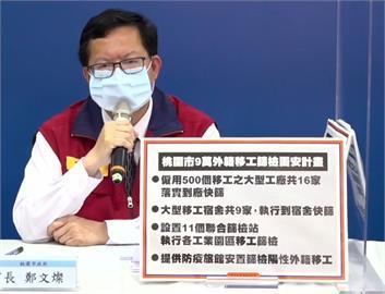 快新聞/外籍移工群聚案頻傳 鄭文燦啟動「固安計畫」:保護移工防疫安全!