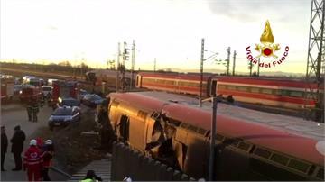 義大利高速列車出軌!2駕駛亡、29人輕重傷