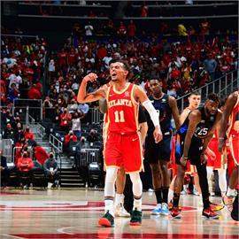 NBA/尼克飆風玫瑰最高分無用 老鷹奪季後賽首輪第3戰