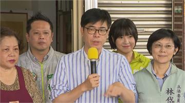 快新聞/「也許對手覺得挺香港只是選舉議題」 陳其邁:守住民主我比別人更堅持