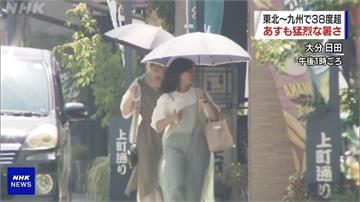 東京8月已131人熱死 破10年單月死亡紀錄