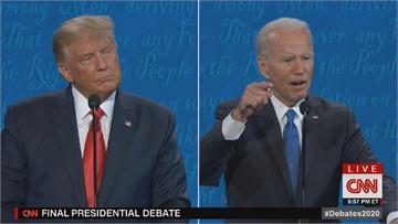 美終場總統辯論 川普保守拜登猛攻 搖頭、嘆氣樣樣來