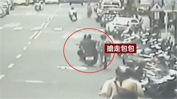 光天化日婦遇飛車搶匪公然搶劫 警循線新莊、板橋逮人