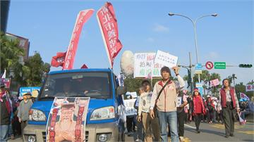 藍上街「秋鬥」大張旗鼓 外界解讀政治動員