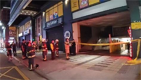 快新聞/西門町深夜火警! 日式連鎖藥妝大樓竄火舌 警消緊急疏散39人