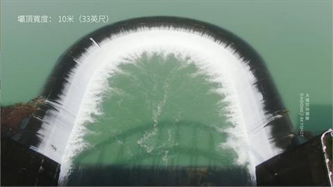 只要30天!南化水庫從「見底到滿水位」 放水震撼畫面全都錄