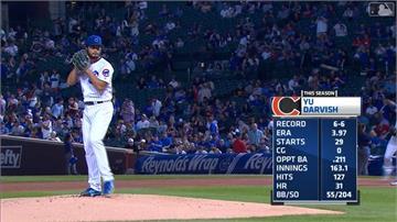 MLB/達比修連8K破隊史無用 小熊外卡遭釀酒人追平