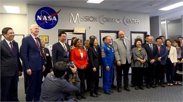 蔡英文訪美官方機構NASA 台歷任元首第一人