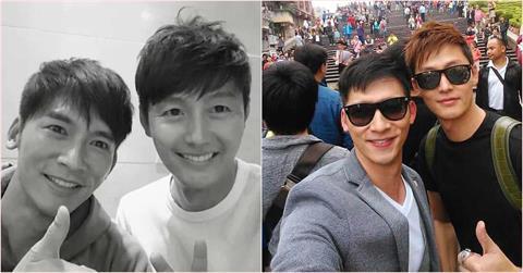 溫昇豪曬「超大咖韓星」友情認證照 曝對方從首爾打來說想他!