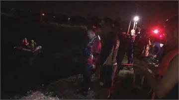 憾!烤肉後少年騎車載友返家疑天暗不熟路衝進魚塭少年溺斃少女獲救