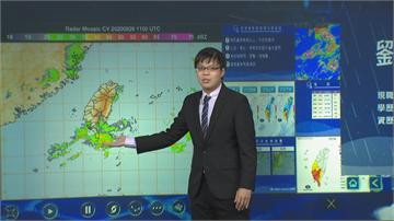 快新聞/西南風強襲南台灣! 氣象局:明天南部地區嚴防「豪雨」