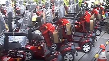 送暖行動不便弱勢 宮廟買71輛電動車舉辦抽獎