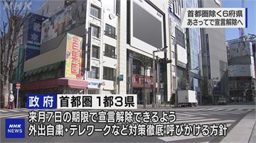 大阪、京都等6府縣疫情趨緩 提早至周日「解除緊急狀態」