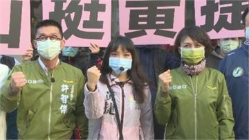 快新聞/陪站路口聲援黃捷 邱議瑩:罷免不該是報復式的選舉動作