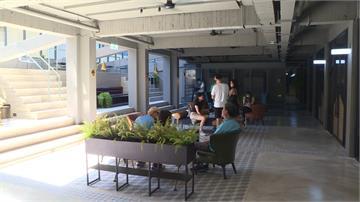 提升校園美學!交通大學打造工業風宿舍交誼空間