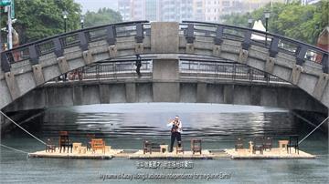 田寮河「漂流議會」 香港藝術家推崇鄭南榕