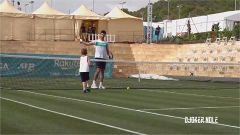 球王帶家人輕鬆打比賽 盧彥勳可能結束ATP生涯