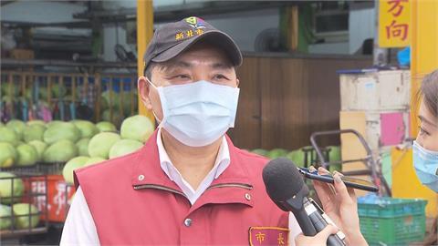 快新聞/北農爆群聚感染! 侯友宜:新北、板橋果菜公司二次快篩