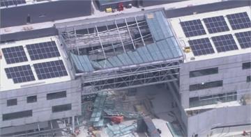 澳大學施工中建築天花板突坍塌 工人1死2傷